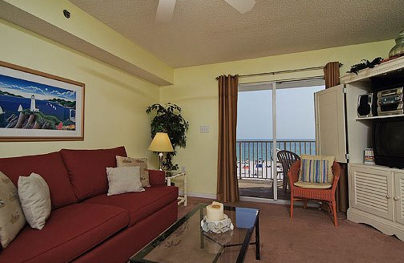 Living Room View at Meyer Vacation Rentals