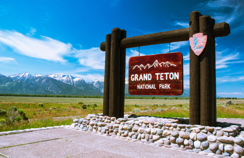 Grand Teton National Park near Rocky Mountain Elk Ranch.