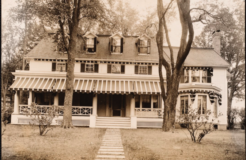 Historic photo of Birchwood Inn.