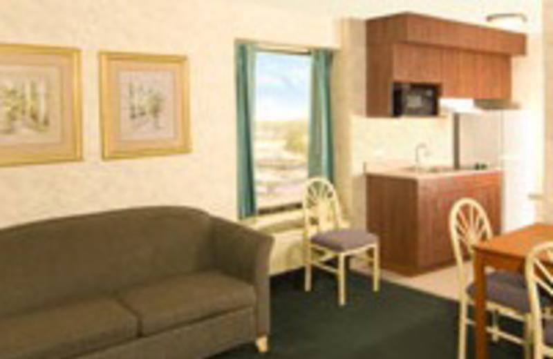 Suite Interior at The Breakers Resort Inn