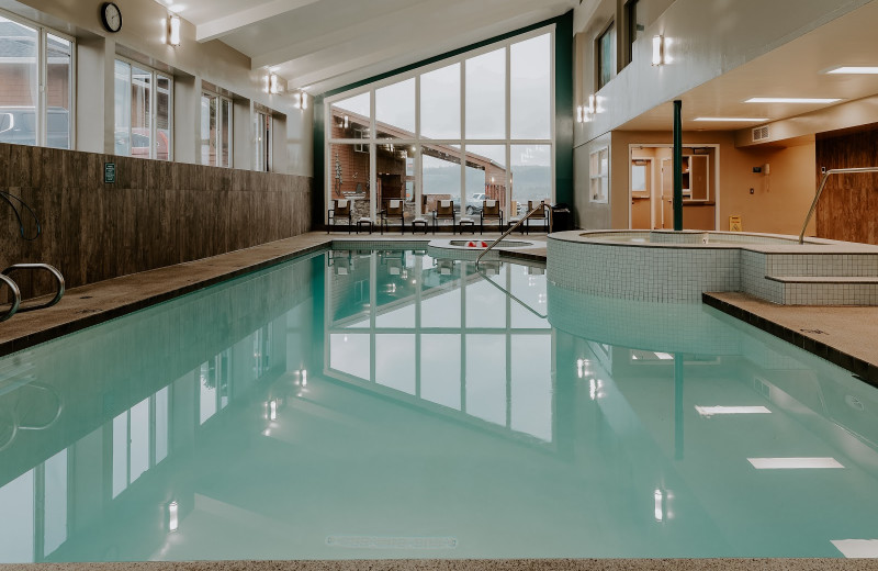 Indoor pool at Hallmark Resort & Spa Cannon Beach.
