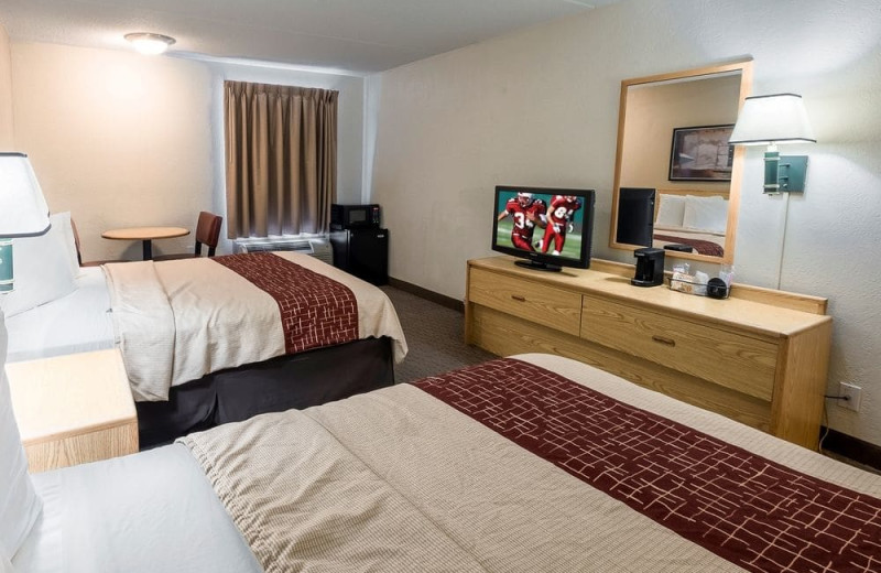 Guest room at Red Roof Inn Tucson North.