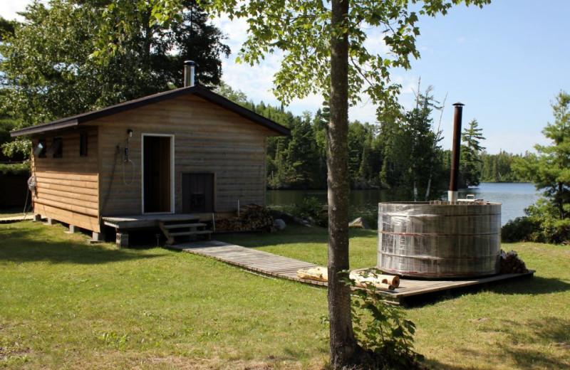 Cabin at Cedar Island Lodge