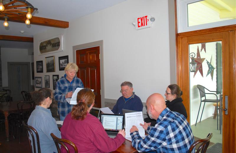 Meeting at Winter Clove Inn