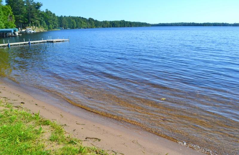 Lake frontage at Lakeland Rental Management