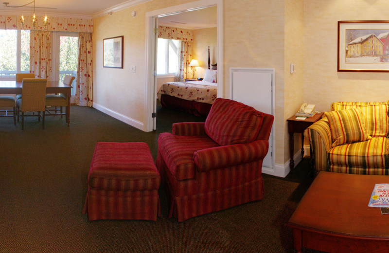 Guest suite at Stoweflake Mountain Resort & Spa.