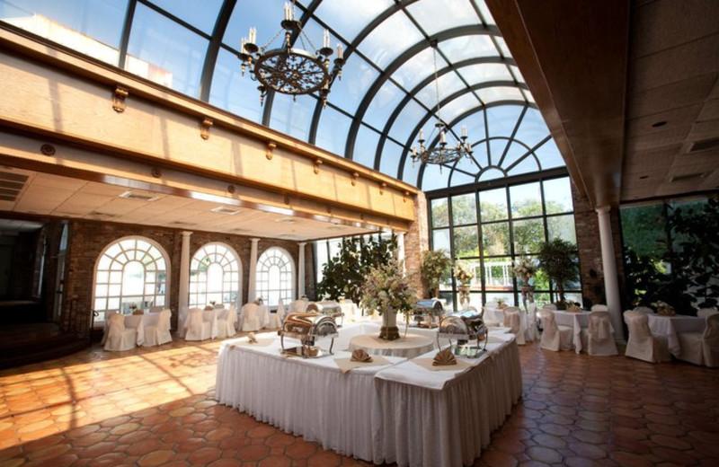 Wedding reception at Doolan's Shore Club.