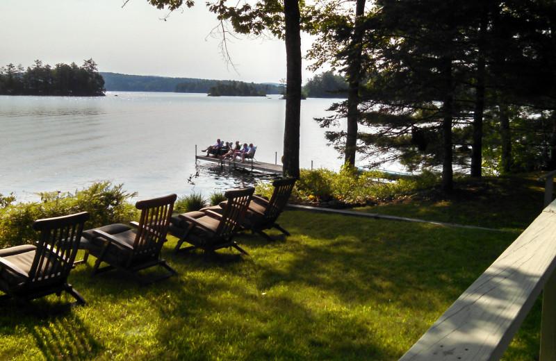 Rental lake view at At The Lake Vacation Rentals.