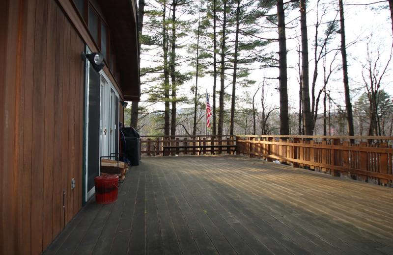 Rental deck at The Killington Group.