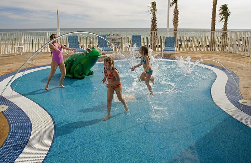 Splash pad at Splash Resort.