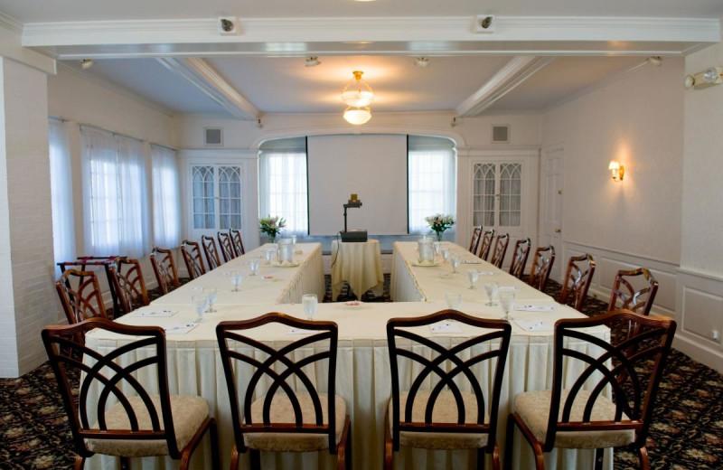 Meeting room at The Nonantum Resort.