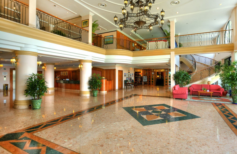 Lobby at Sunway Hotel - Phnom Penh.