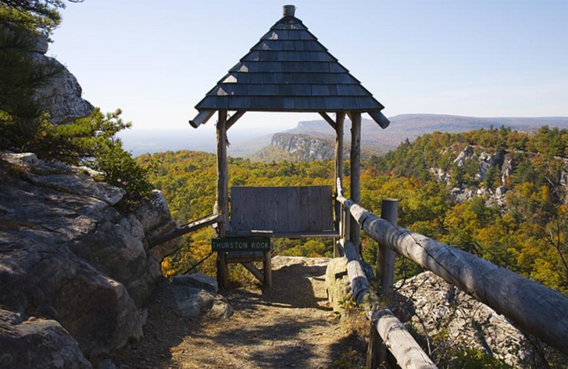 Thurston Rock at Mohonk Mountain House
