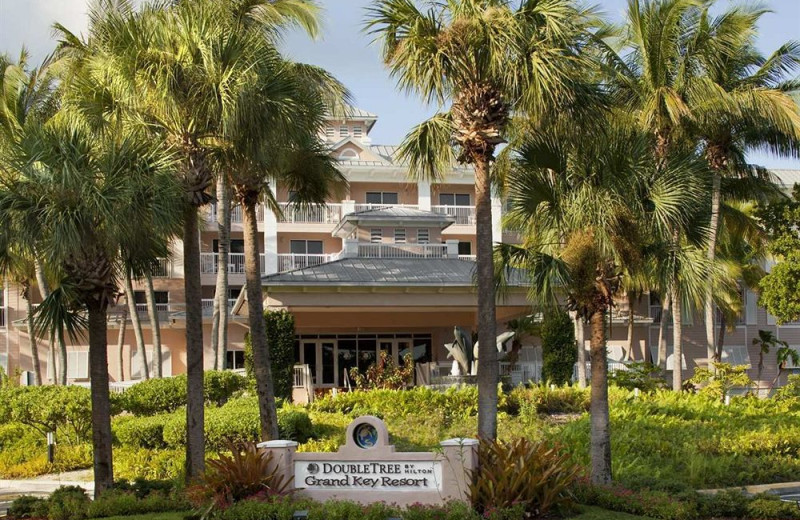 Exterior view at Doubletree Grand Key Resort.