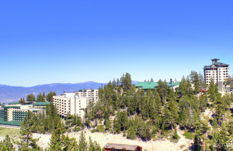 Exterior view of The Ridge Resorts.