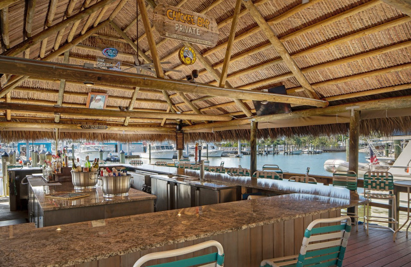 Bar at Cove Inn on Naples Bay.