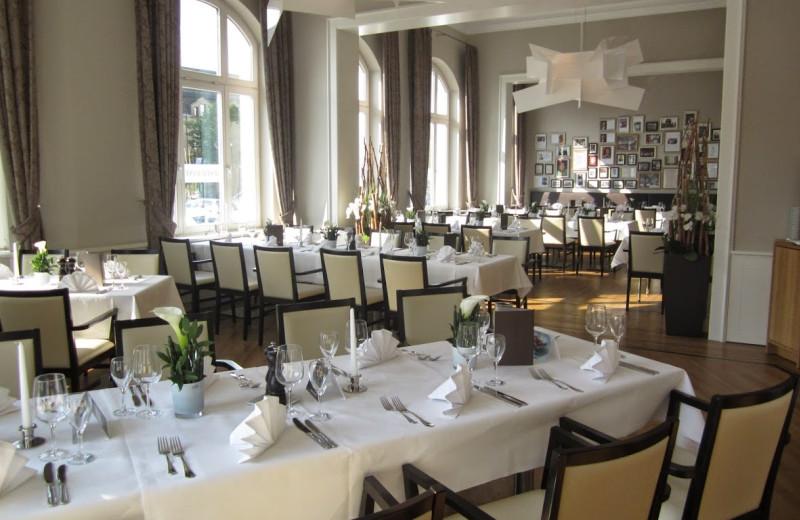 Dining at Mövenpick Bielefeld.