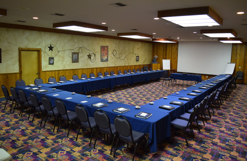 Meeting room at Flying L Hill Country Resort & Conference Center.