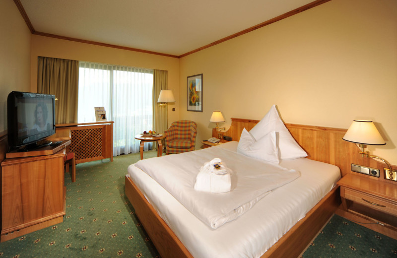 Guest room at BEST WESTERN PREMIER Hotel Sonnenhof.