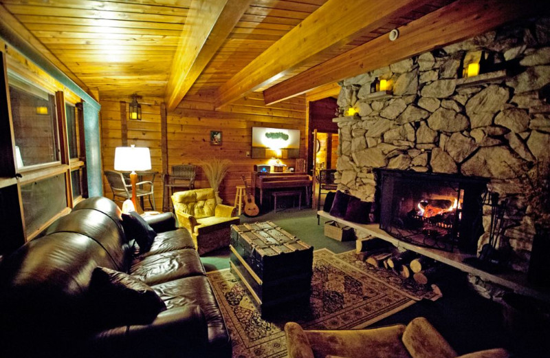 Lounge at Eldora Lodge.