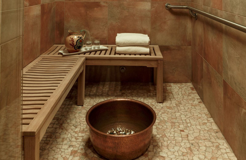 Sauna at Hallmark Resort & Spa Cannon Beach.