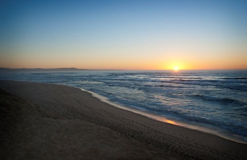 Sunset at The Sanctuary Beach Resort