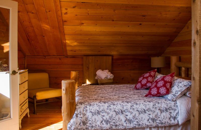 Guest room at Wilderness Resort & Retreat.