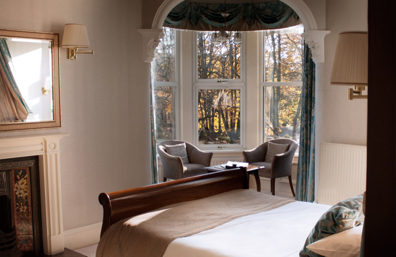 Guest room at Ascot House Hotel.