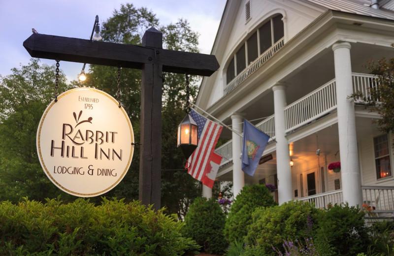Exterior view of Rabbit Hill Inn.