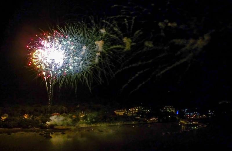 Fireworks at Westin Jekyll Island.