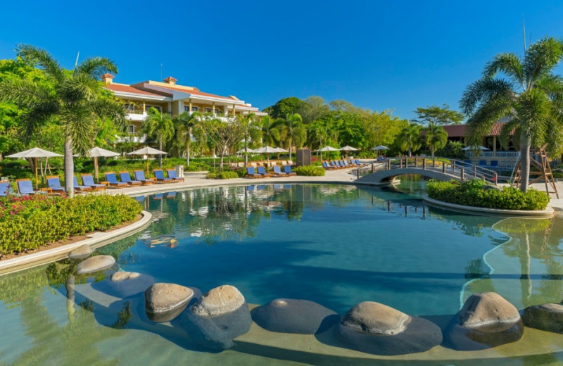 Outdoor pool at The Westin Golf Resort & Spa, Playa Conchal.