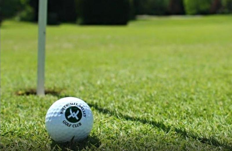 Waterville Valley Golf Course near Village Condominium.