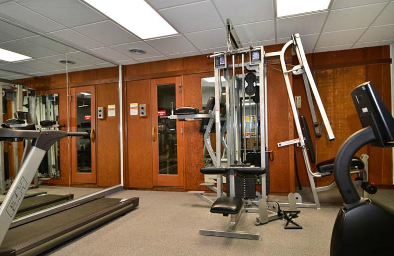 Fitness Room at Best Western Center Pointe Inn