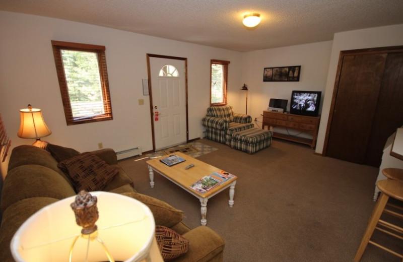 Suite Interior at Boulder Brook on Fall River