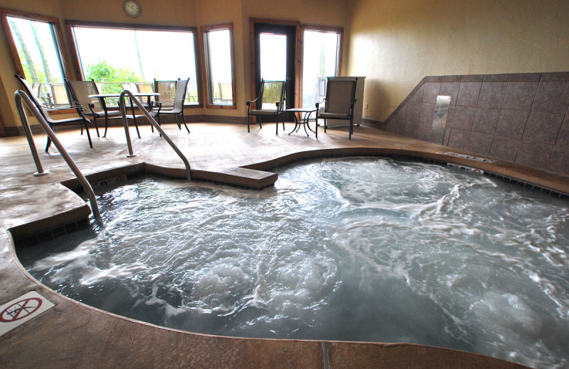 Jacuzzi at  Landmark Resort