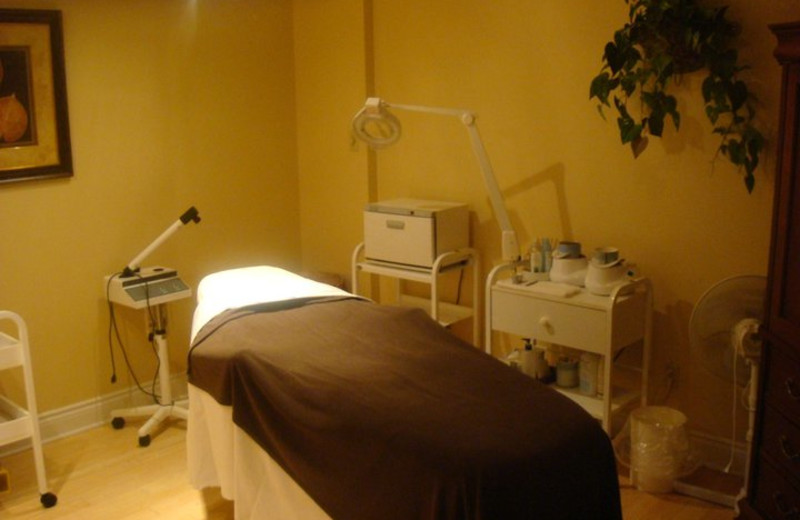 Massage Table at Atlantica Hotel