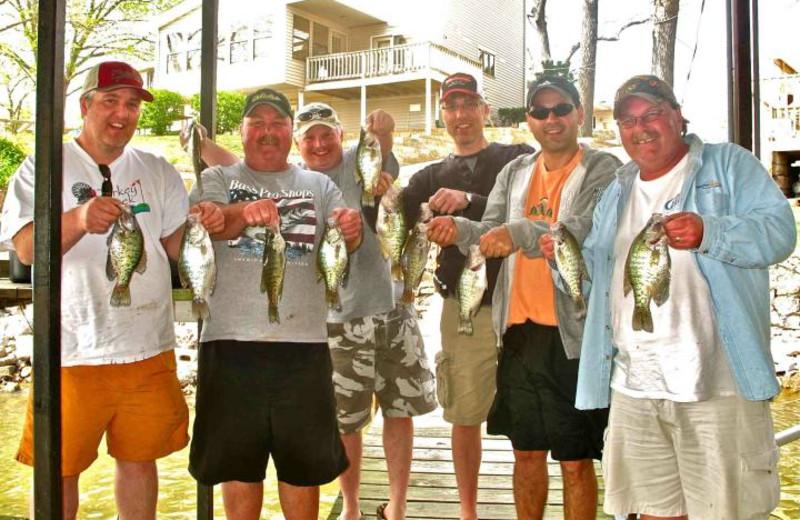 Fishing at Sunset Inn Resort.