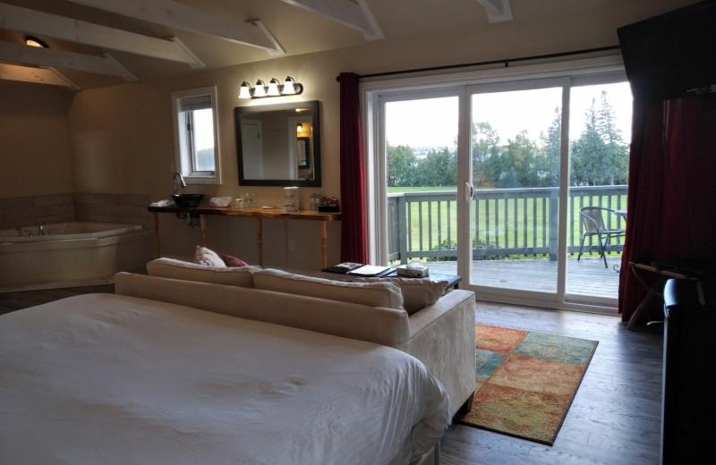 Cottage interior at Eganridge Resort, Country Club & Spa.