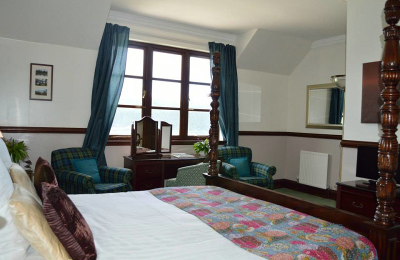 Guest room at Craigdarroch Lodge.