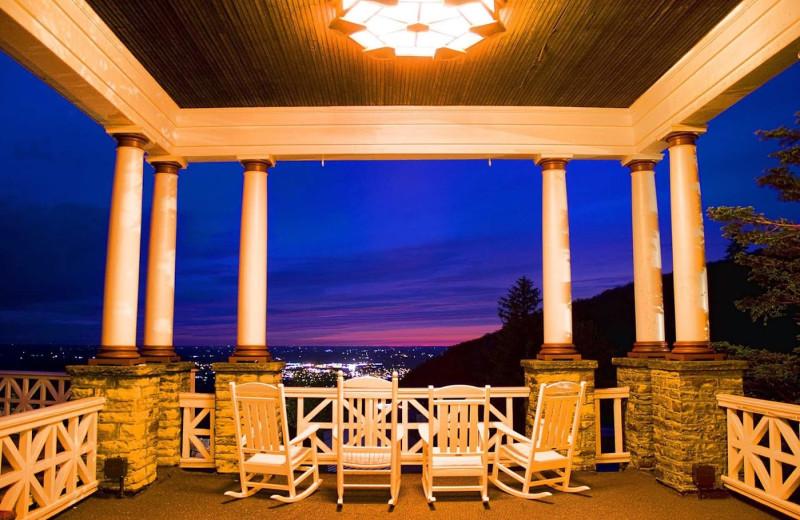 Porch view at Summit Inn Resort.