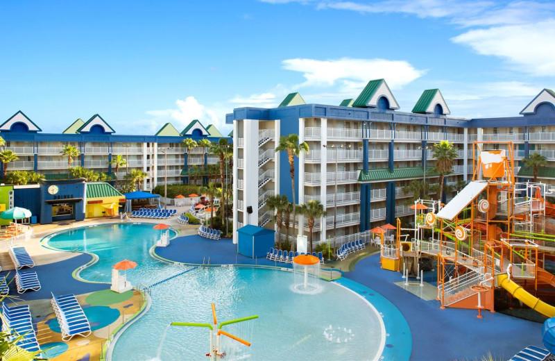 Lagoon Pool at Holiday Inn Resort Orlando Suites - Waterpark