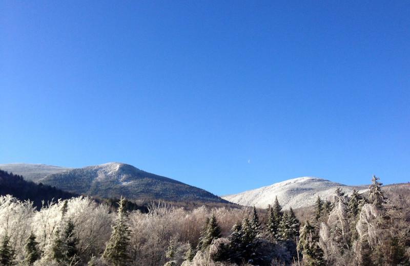 Mountains at Eastern Slope Inn Resort.