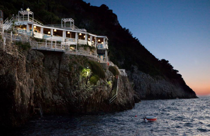 Exterior view of Capri Palace Hotel and Spa.