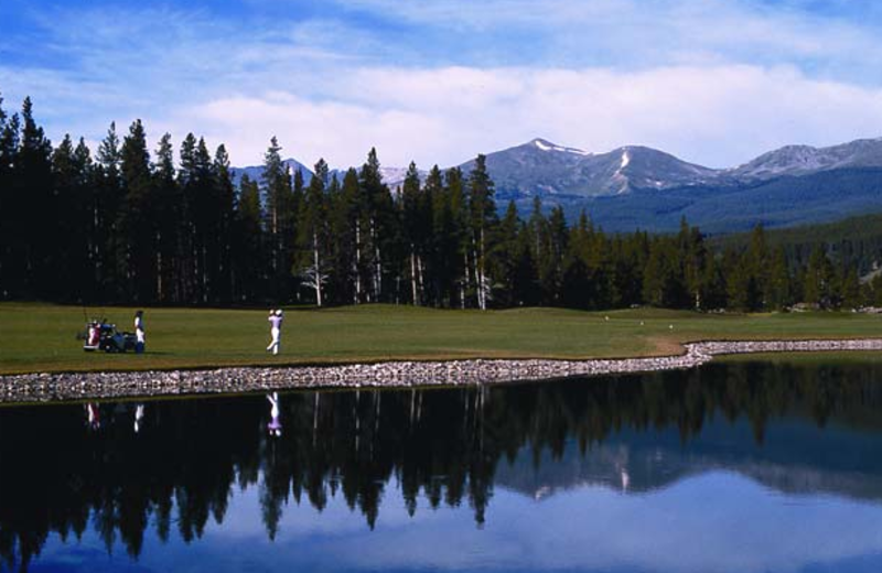 Golf near Beaver Run Resort.
