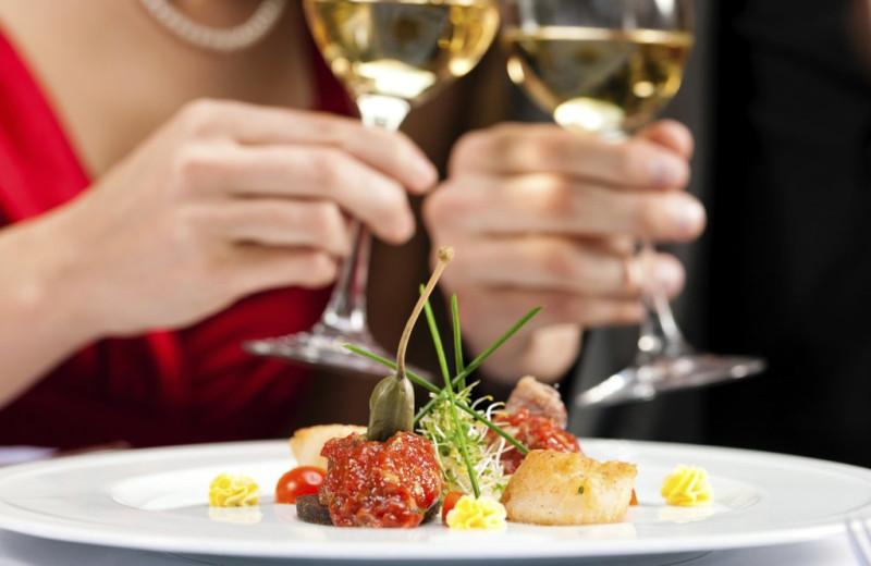 Dining at Bar Harbor Inn & Spa.