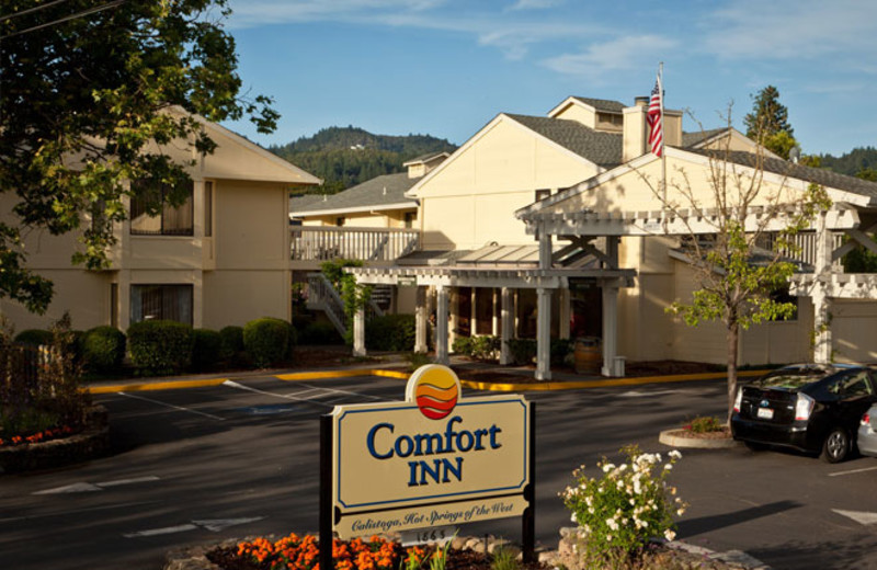 Exterior View of Comfort Inn Calistoga Hotel