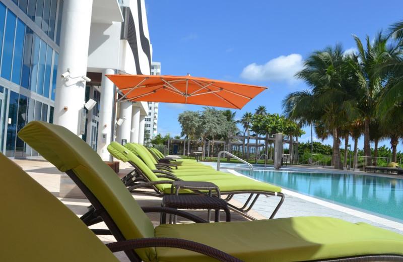 Outdoor pool at Canyon Ranch Resort & Hotel.