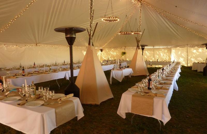 Wedding Reception at Chipeta Solar Springs Resort