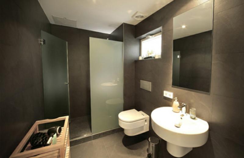 Bathroom at Playa Blanca.