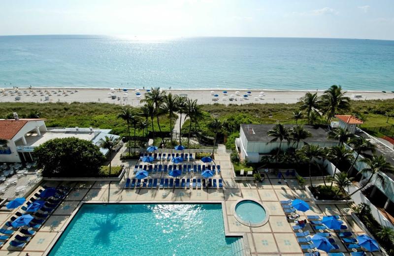 Outdoor pool at Miami Beach Resort & Spa.